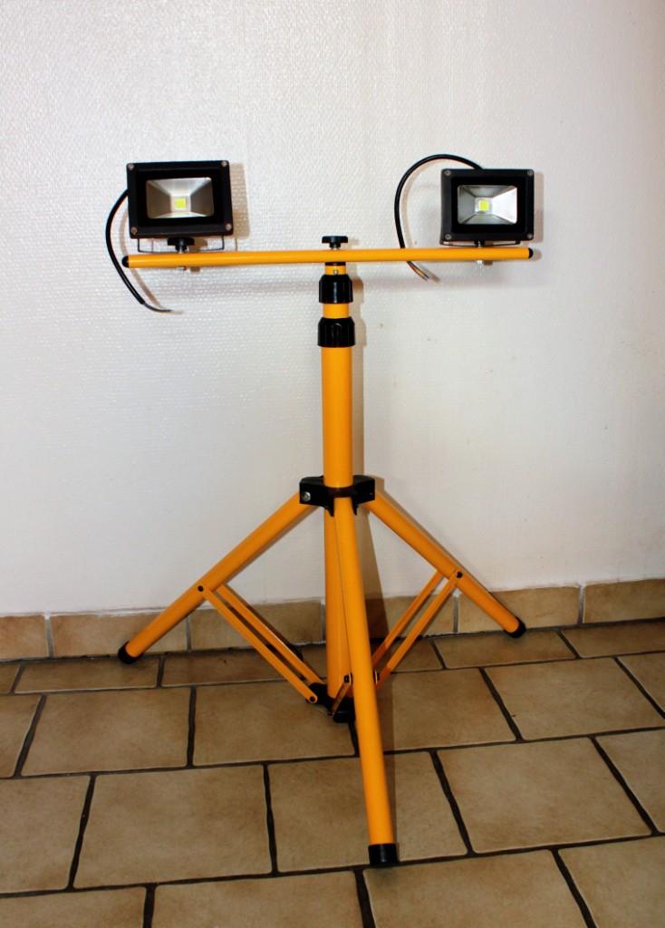 lampen test teil 2 3 der vingo 2x 10w kaltwei led. Black Bedroom Furniture Sets. Home Design Ideas
